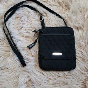 Vera Bradley black crossbody purse